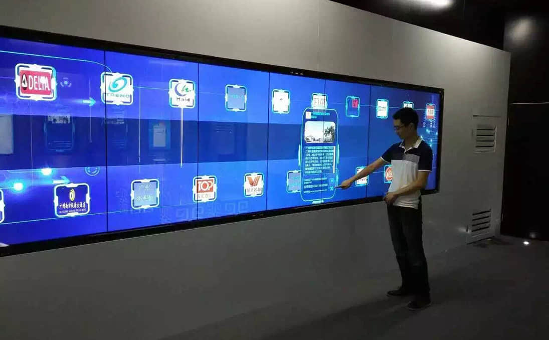 Factory Of Lcd Video Wall Digital Signage Touchscreen